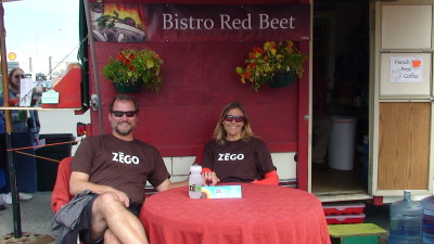 ZEGO at Alaskan Gluten Free farmers market cafe