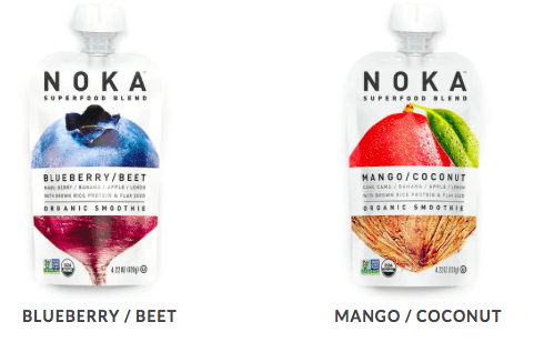 noka fruit and veggie pouches