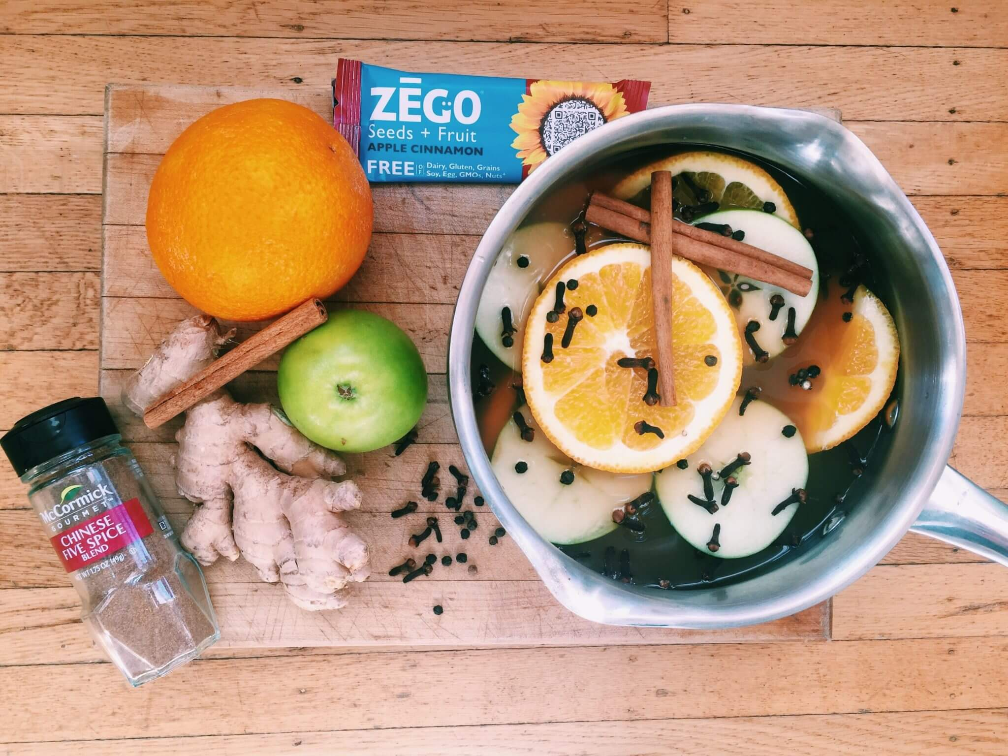 allergy friendly ZEGO bars inspired drink