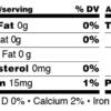 nutrition panels-JFP