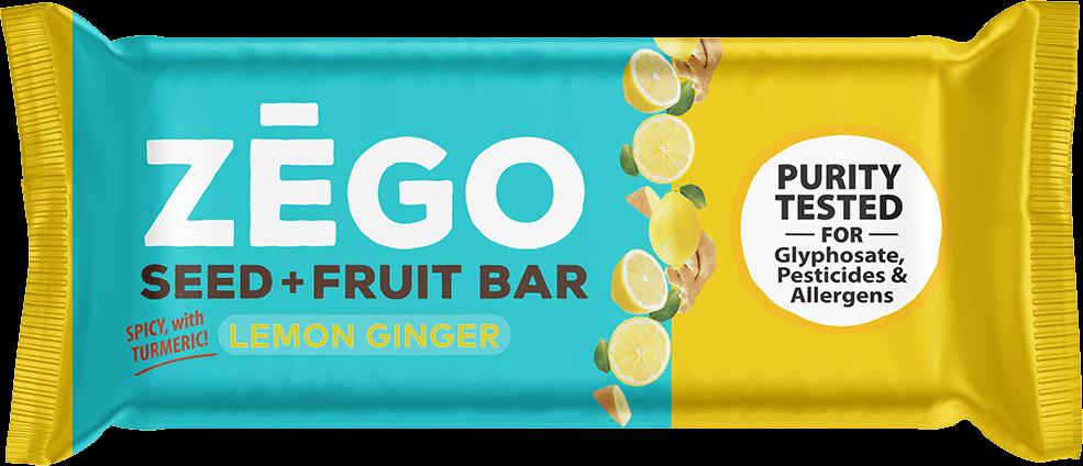 SEED+FRUIT BAR LEMON GINGER