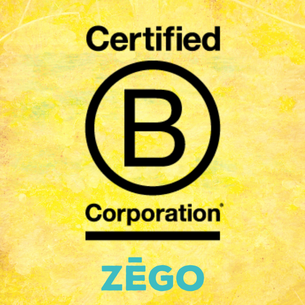 ZEGO is a Certified B Corp